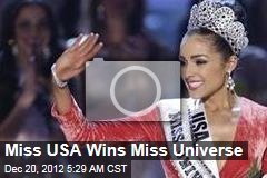 Miss USA Wins Miss Universe