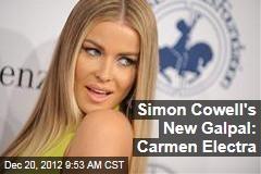 Simon Cowell's New Galpal: Carmen Electra