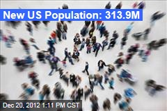 New US Population: 313.9M