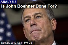 Is John Boehner Done For?