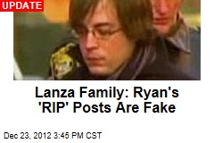 Ryan Lanza Posts Tribute: RIP, Mom and Adam
