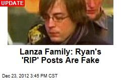 Ryan Lanza Posts Tribute: RIP, Mom and Adam