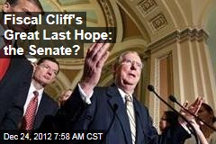Fiscal Cliff's Great Last Hope: the Senate?