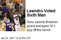 Leandro Voted Sixth Man