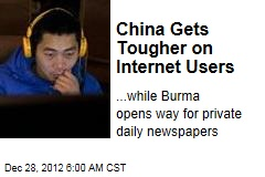 China Gets Tougher on Internet Users