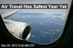 Air Travel Has Safest Year Yet