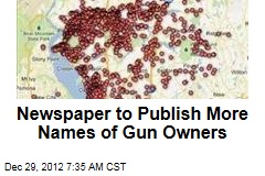 Newspaper to Publish More Names of Gun Owners