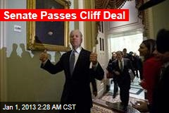 Senate Passes Cliff Deal