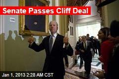 Senate Passes Cliff Deal