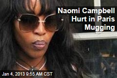 Naomi Campbell Mugged in Paris