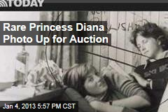 Rare Princess Diana Photo Up for Auction
