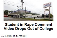 Student in Rape Comment Video Drops Out of College