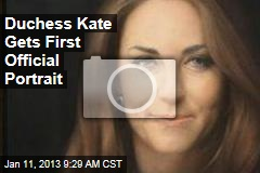 Duchess Kate Gets First Official Portrait