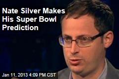 Nate Silver Makes His Super Bowl Prediction