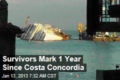 Survivors Mark 1 Year Since Costa Concordia