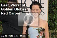 Best, Worst of Golden Globes Red Carpet