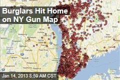 Burglars Hit Home on NY Gun Map