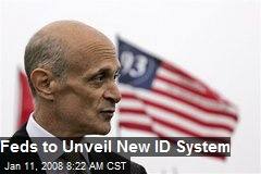 Feds to Unveil New ID System