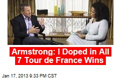 Armstrong: My Career Is 'One Big Lie'