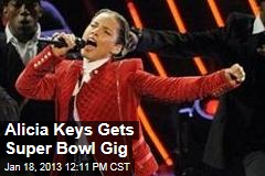 Alicia Keys Gets Super Bowl Gig