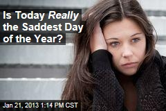 Is Today Really the Saddest Day of the Year?