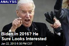 Biden in 2016? He Sure Looks Interested