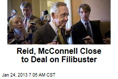 Reid, McConnell Close to Deal on Filibuster