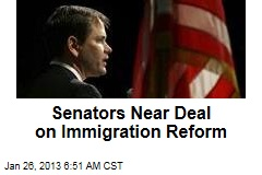 Senators Near Deal on Immigration Reform