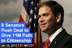 Bipartisan Deal Offers Pathway to Citizenship for 11M