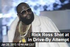 Rick Ross Shot at in Drive-By Attempt