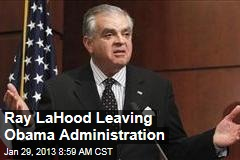 Ray LaHood Leaving Obama Administration
