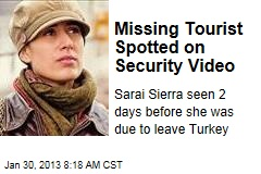 Missing Tourist Spotted on Security Video