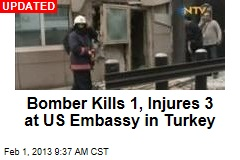 2 Dead in Bombing at US Embassy in Turkey