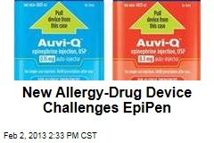 New Allergy-Drug Device Challenges EpiPen