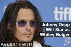 Johnny Depp Will Star as Whitey Bulger