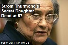 Segregationist's Secret Daughter Dead at 87