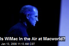 Is WiMac In the Air at Macworld?
