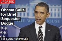 Obama to Call for Brief Sequester Dodge