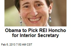 Obama to Pick REI Honcho for Interior Secretary