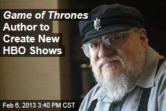 Game of Thrones Author to Create New HBO Shows