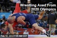 Wrestling Axed From 2020 Olympics