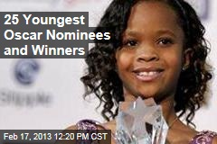 25 Youngest Oscar Nominees and Winners
