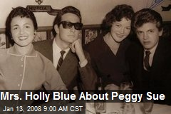 Mrs. Holly Blue About Peggy Sue