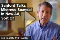 Sanford Talks Mistress Scandal in New Ad, Sort Of