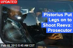 Prosecutor: Pistorius Shot Girlfriend Through Door