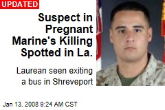 Suspect in Pregnant Marine's Killing Spotted in La.