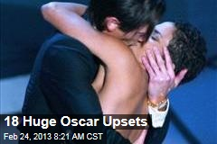 18 Huge Oscar Upsets