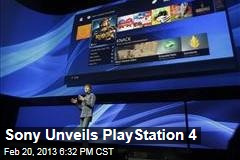 Sony Unveils PlayStation 4
