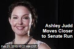 Ashley Judd Moves Closer to Senate Run