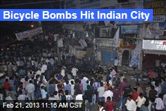 Bicycle Bombs Hit Indian City
